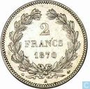 France 2 francs 1870 (A - without legend)