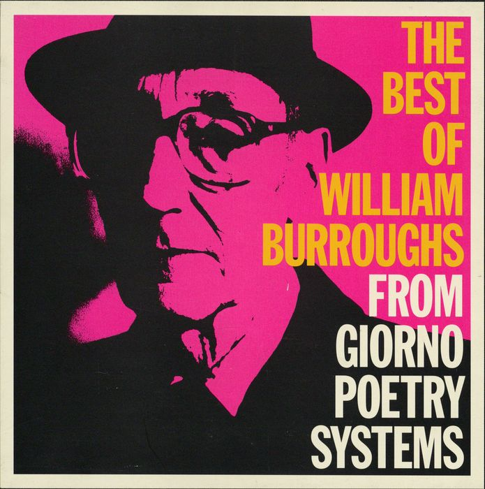 William S. Burroughs ‎– The Best Of William Burroughs From Giorno Poetry Systems 4 CD Boxset