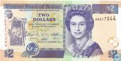Belize 2 Dollars 2011