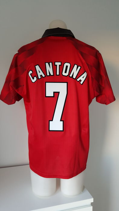 on sale 6c124 23be7 Manchester United Home Jersey 1996-1997 - Cantona #7 ...