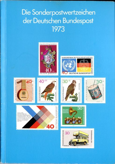 Federal Republic of Germany - 1973 - year set - Michel 1 tested Schlegel BPP