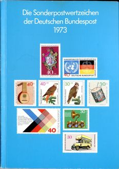 Federal Republic of Germany 1973 - annual collection - Michel 1 tested Schlegel BPP