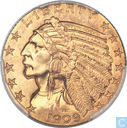 United States 5 dollars 1909 D