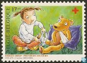 Postage Stamps - Belgium [BEL] - First Aid