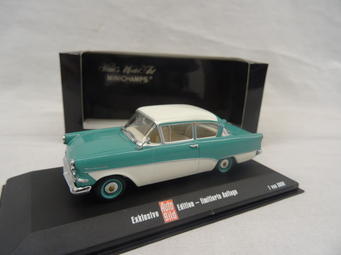 MiniChamps - 1:43 - Opel Olympia Rekord P1 - Exclusive Auto Bild Edition - Limited 3000 Pieces