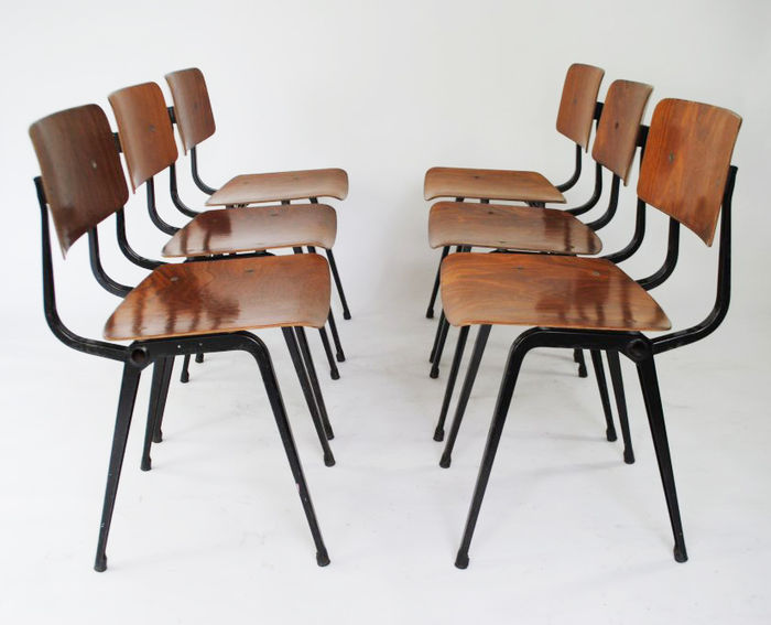 Friso Kramer For Ahrend De Cirkel   6 Revolt Chairs