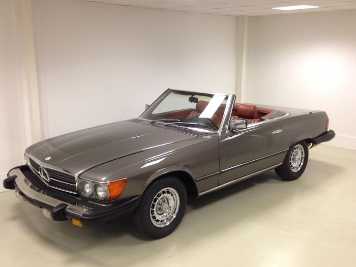 mercedes sl 450 roadster 1980 catawiki. Black Bedroom Furniture Sets. Home Design Ideas