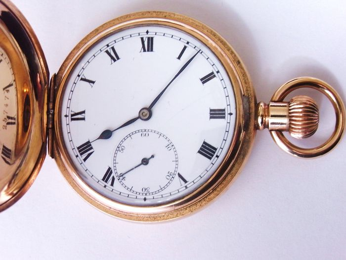 Rolex. Swiss full hunter gent's pocket watch. ca 1930s