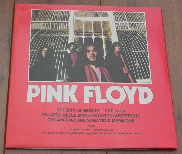 Pink Floyd- Recorded Live In Brescia, June 19th 1971/ Limited ...