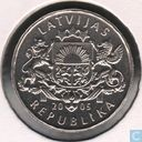 "Coins - Latvia - Latvia 1 lats 2005 ""Weathercock of St. Peter's Church"""