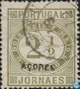 Newspaper stamp with overprint