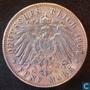 Hamburg 5 mark 1901