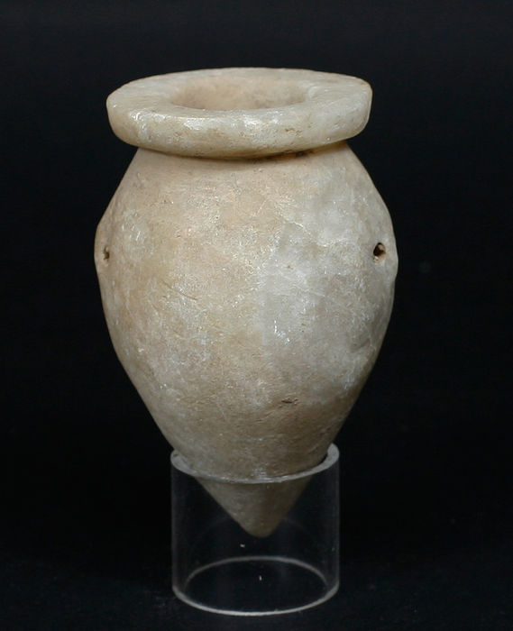 Egyptian Alabaster Vase From The Old Empire 81 Cm Catawiki