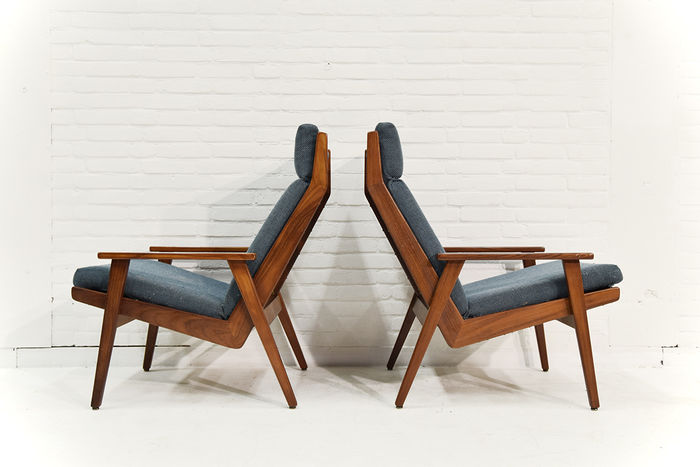 Rob Parry Fauteuils.Rob Parry For Gelderland Set Of 2 Armchairs Catawiki