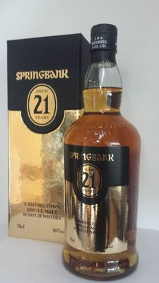 Springbank 21 years old 2014