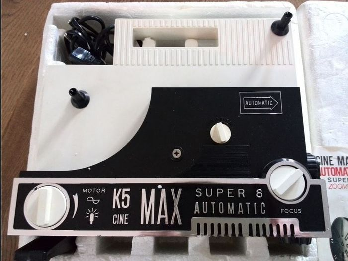 Cinemax k5, automatic super 8 film projector - Catawiki