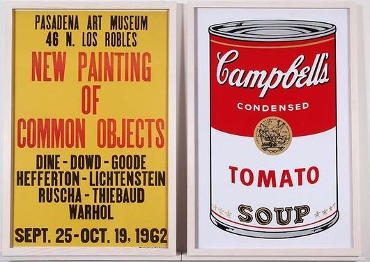 ALL ABOUT POP: \'New Painting of Common Objects\' 1962 poster by Ed ...