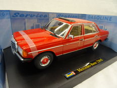 Revell - Scale 1/18 - Mercedes-Benz 230E (W123) 1983 - Colour red