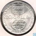 "Portugal 20 escudos 1953 ""25th Anniversary of Financial Reform"""