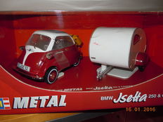 Revell - Schaal 1/18 - BMW Isetta and Caravan
