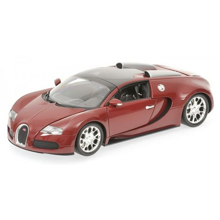 minichamps scale 1 18 bugatti veyron super sport roadster 2011 dark red catawiki. Black Bedroom Furniture Sets. Home Design Ideas