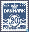 Postage Stamps - Denmark - Figure type