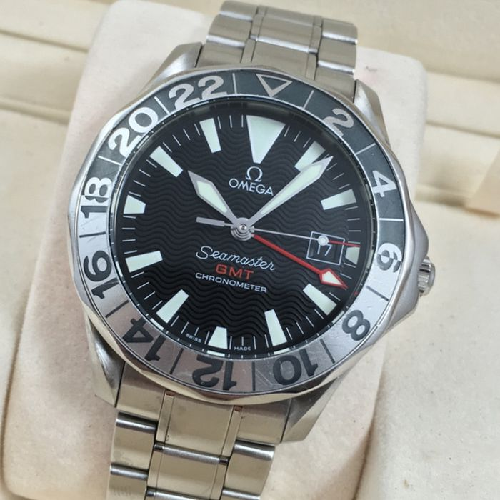 Omega Seamaster GMT 50 Years Limited Edition - 2002 - Catawiki