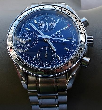 omega speedmaster triple date montre bracelet de 1999 type catawiki. Black Bedroom Furniture Sets. Home Design Ideas
