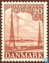 Postage Stamps - Denmark - State Broadcaster