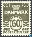 Postage Stamps - Denmark - Rating 'golftype'