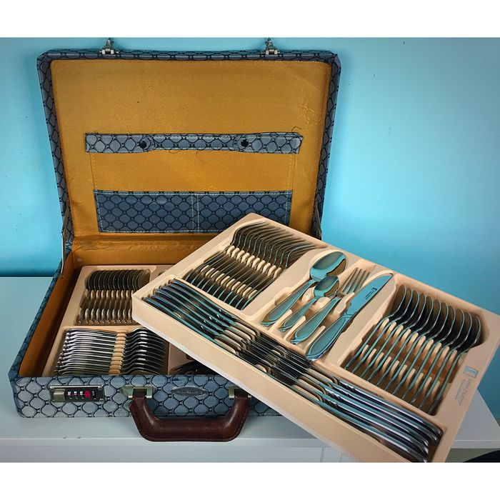 f77cc0692f683c Imperial Collection - 72 pieces (12 persons) cutlery in case of stainless  steel with