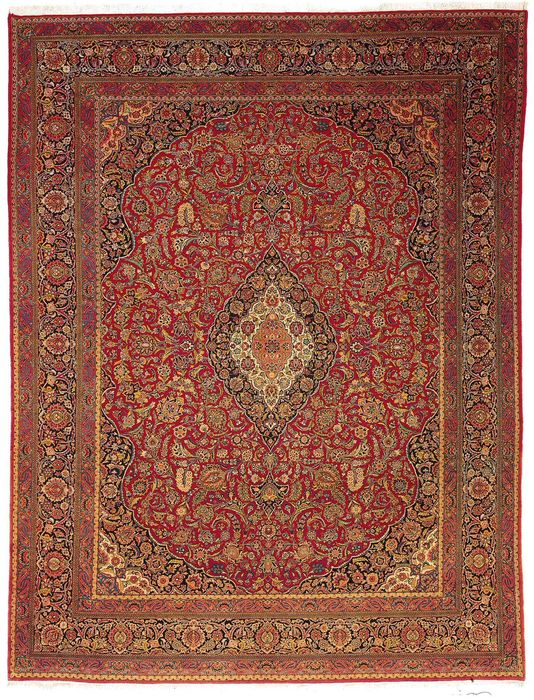 Kachan (Persian) in wool - circa 1930.