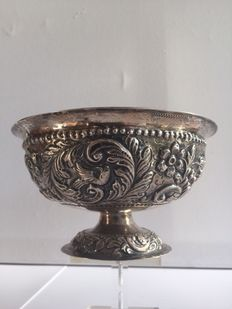 Silver cream bowl, 2nd half 19th century