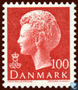 Postage Stamps - Denmark - Queen Margrethe II (x)