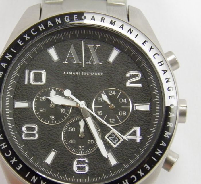 armani exchange zacharo chronographe ax1254 montre homme catawiki. Black Bedroom Furniture Sets. Home Design Ideas
