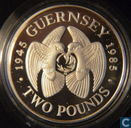 "Guernsey 2 Pound 1985 (PP) ""40th Anniversary of Liberation from Germany"""