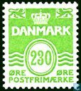 Timbres-poste - Danemark - Golf'-figure de type '
