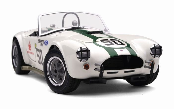 exoto scale 1 18 ac cobra 289 competition 50 1963 gt class winner canadian grand prix. Black Bedroom Furniture Sets. Home Design Ideas