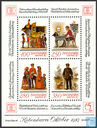 Postage Stamps - Denmark - Stamp Exhibition Hafnia