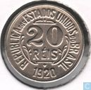 Brazil 20 réis 1920 (without point between 2 and 0)