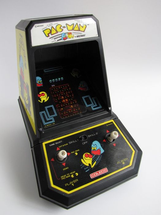 Phenomenal Coleco Pac Man Tabletop Arcade Modell 2390 Inkl Download Free Architecture Designs Itiscsunscenecom