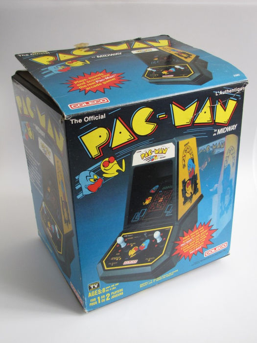 Miraculous Coleco Pac Man Tabletop Arcade Modell 2390 Inkl Download Free Architecture Designs Itiscsunscenecom