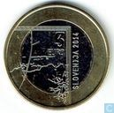 "Slovénie 3 euro 2014 ""200th Anniversary of the Birth of the Photographer Janez Puhar"""
