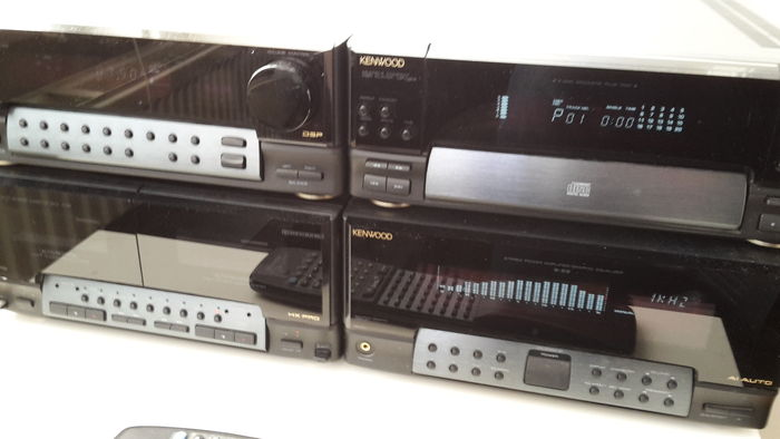 Kenwood Home Audio System with multi-disc player