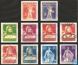 Definitives with Changes of Colour