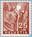 Postage Stamps - Switzerland [CHE] - Gorge Via Mala
