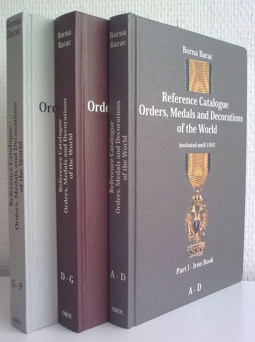 medals and awards borna barac reference catalogue orders medals