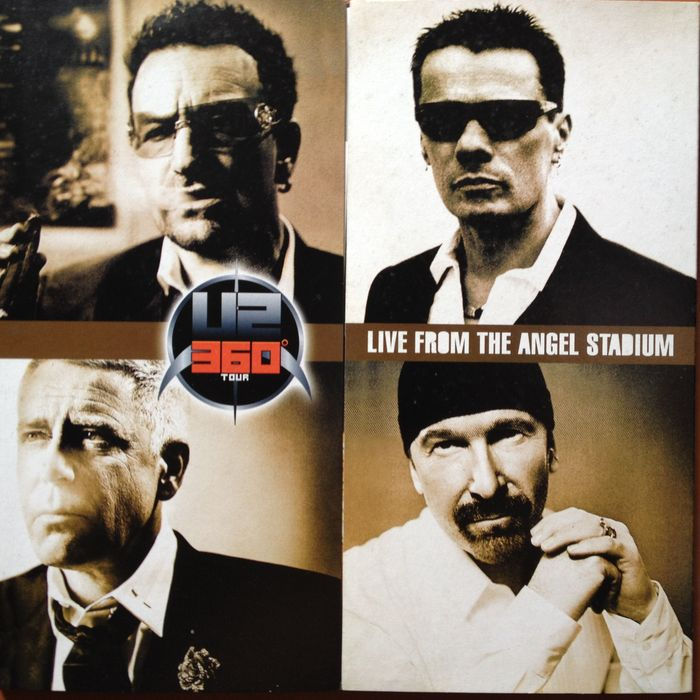 "U2  - 2LP  ""Live From Angel Stadium"" On Their 360° Tour"