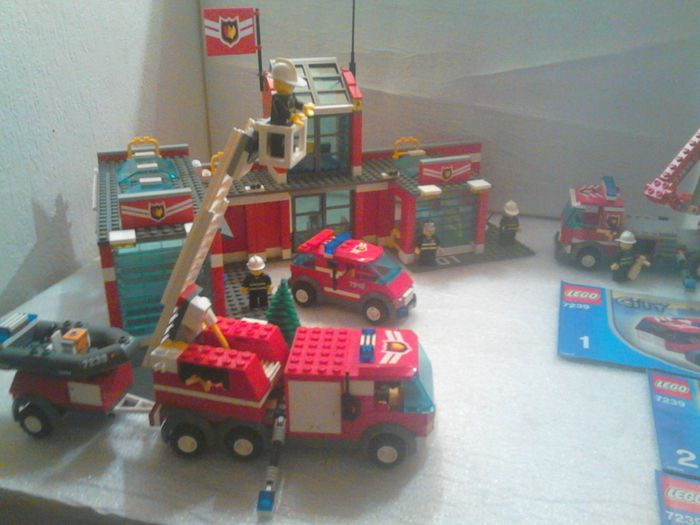 City 7239 7945 Fire Truck Fire Station Catawiki