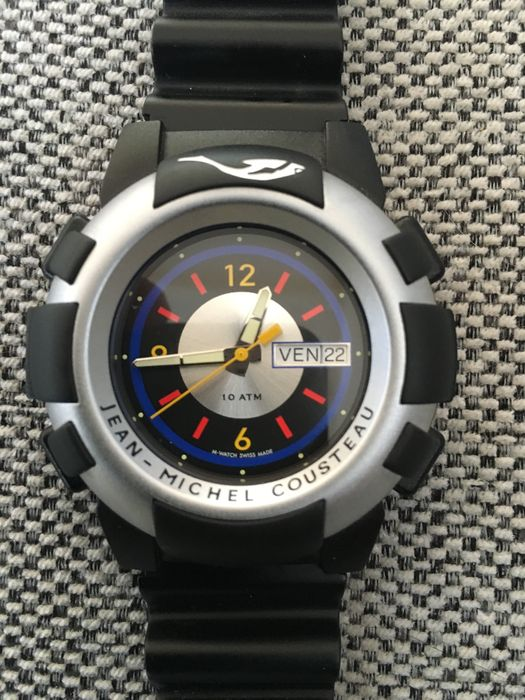 Mondaine watch LTD diver by Jean-Michel Cousteau - wristwatch - Catawiki 3054ed8781